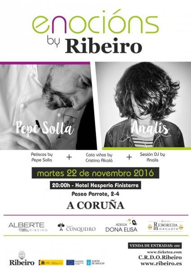 Enocións by Ribeiro: Pepe Solla & Analís (Galicia)