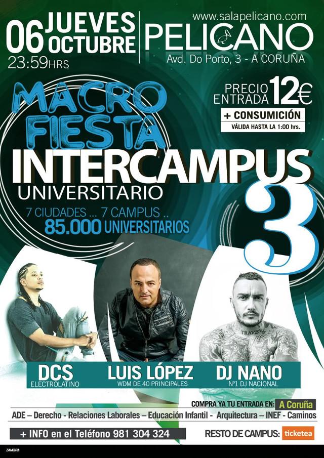 Macrofiesta Intercampus 3 (Galicia)