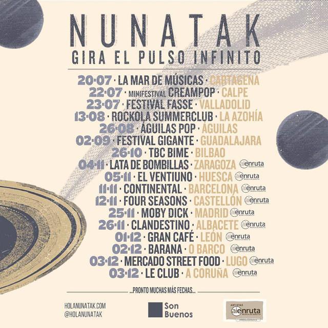 Nunatak y el Pulso Infinito (Galicia)