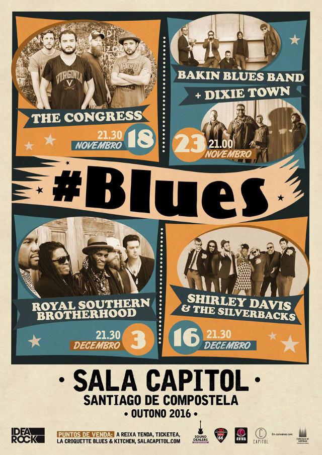 Bakin Blues Band + Dixie Town (Galicia)