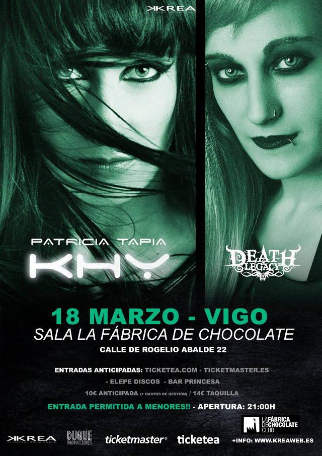 Patricia Tapia KHY + Death&Legacy (Galicia)
