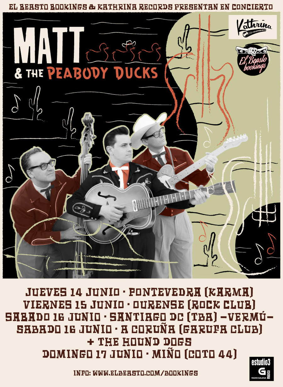 MATT & THE PEABODY DUCKS  (Galicia)