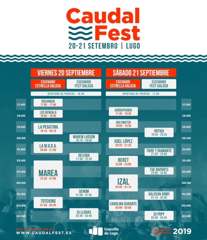 Caudal Fest 2019 (Galicia)