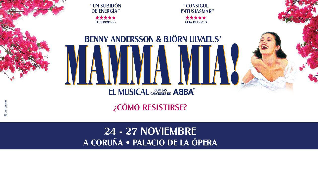 Musical Mamma Mia! (Galicia)