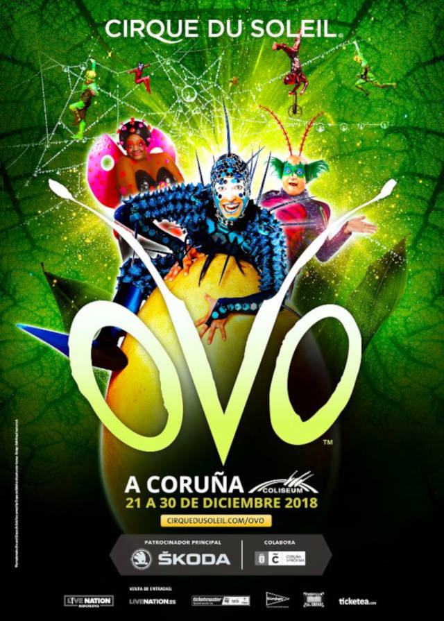 OVO Cirque du Soleil (Galicia)