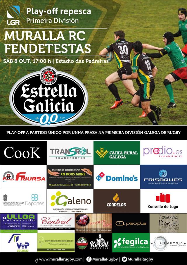 Muralla RC - Fendetestas (Galicia)
