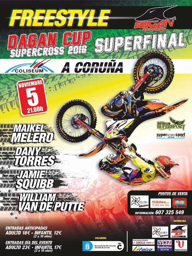 X Freestyle-Supercross Dagan Cup  (Galicia)