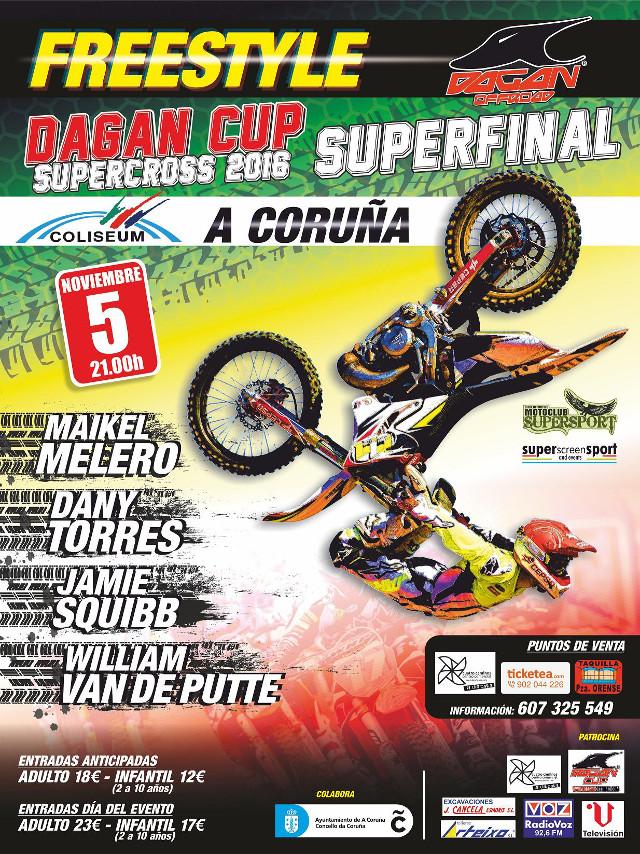 X Freestyle-Supercross Dagan Cup  (Galicia)