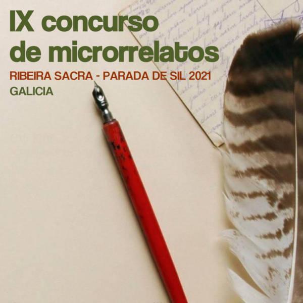 IX Edición del concurso de microrelatos Ribeira Sacra-Parada de Sil 2021