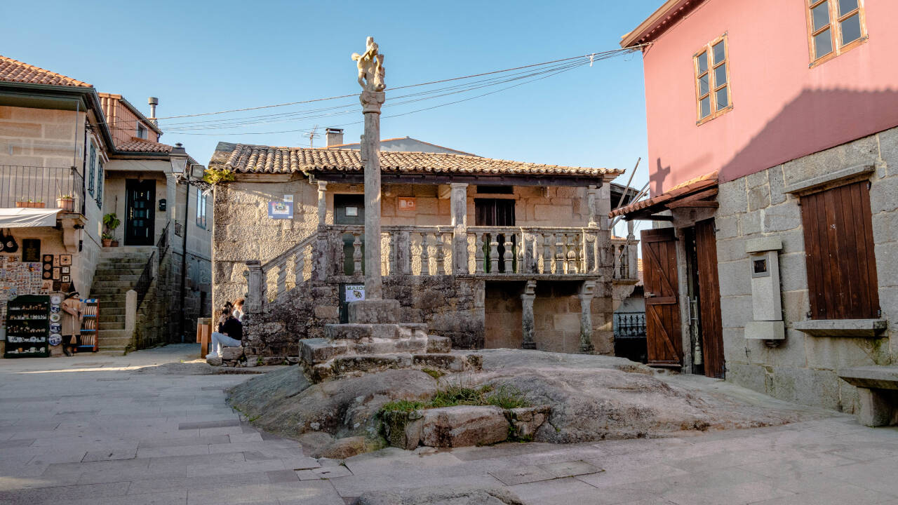 Rúa de San Roque (Combarro)