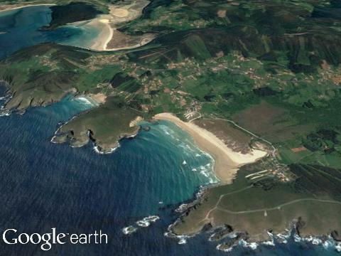 Praia de Pantín (Galicia)