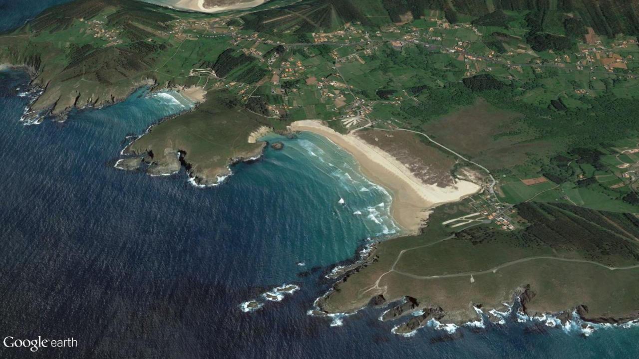 Praia de Pantín