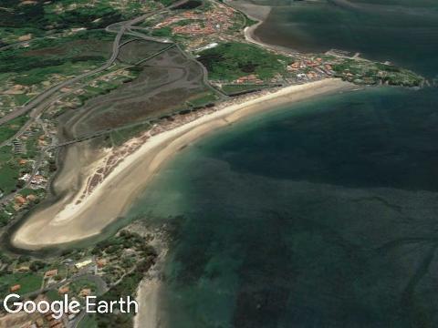 Praia Grande de Miño (Galicia)