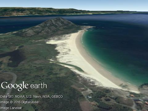 Praia de Area Maior (Galicia)