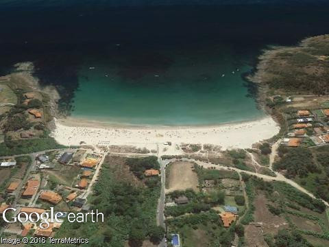 Praia de Canelas (Galicia)