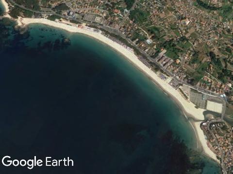 Praia de Samil (Galicia)