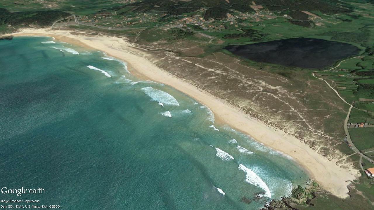 Praia de Doniños