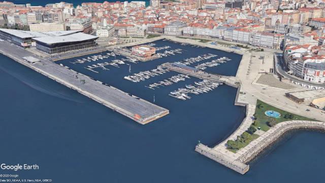 Marina Real de A Coruña (Galicia)