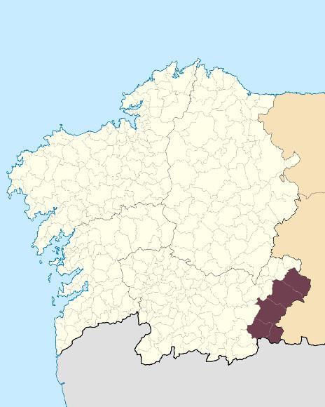 Mapa de situación de Macizo de Pena Trevinca