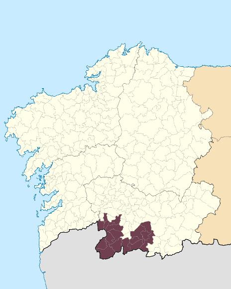 Mapa de situación de O Xurés
