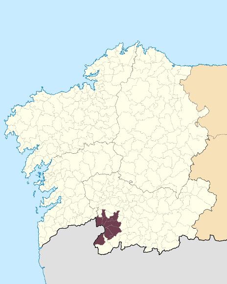 Mapa de situación de Serra do Laboreiro