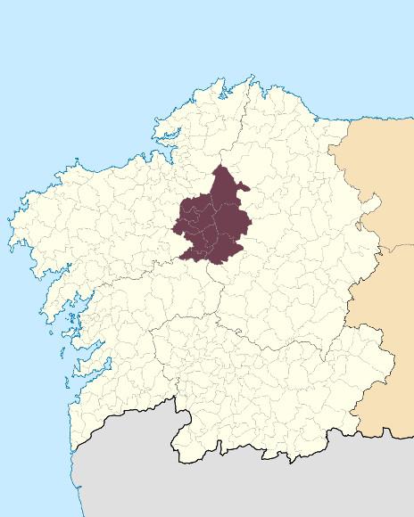 Mapa de situación de Serra da Cova da Serpe
