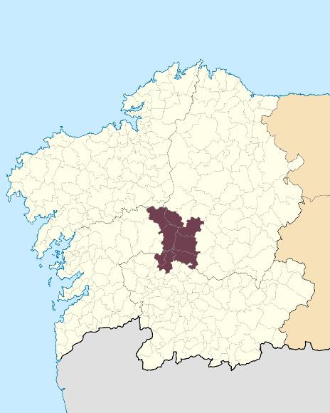 Mapa de situación de Serra do Faro