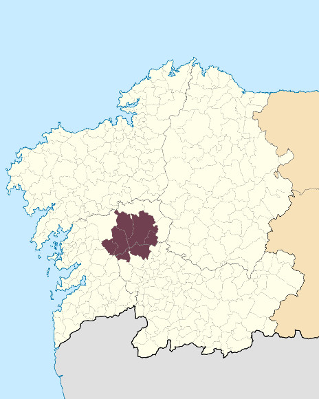 Mapa de situación de Serra do Testeiro