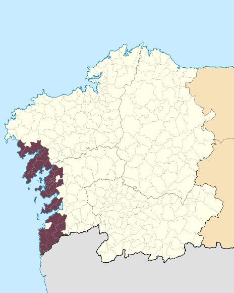 Mapa de situación de Serras Litorais Atlánticas