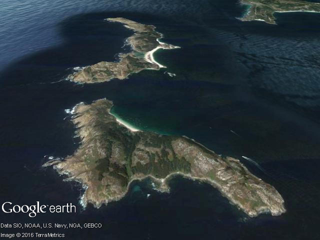 Illas Cíes (Galicia)