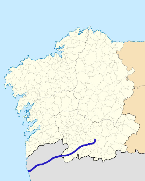 Mapa de situación de Limia