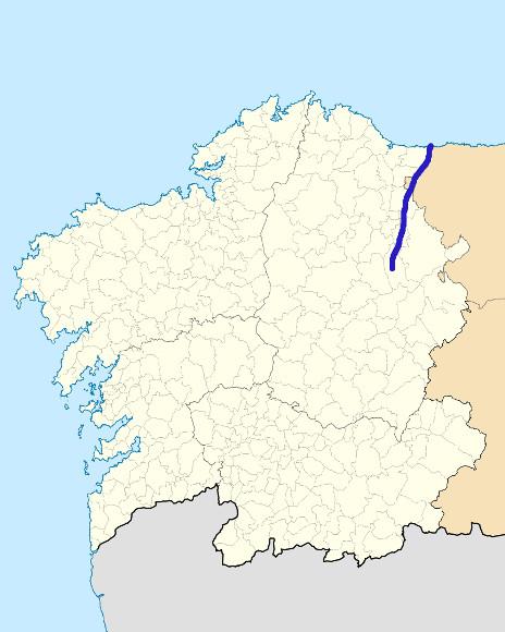 Mapa de situación de Eo