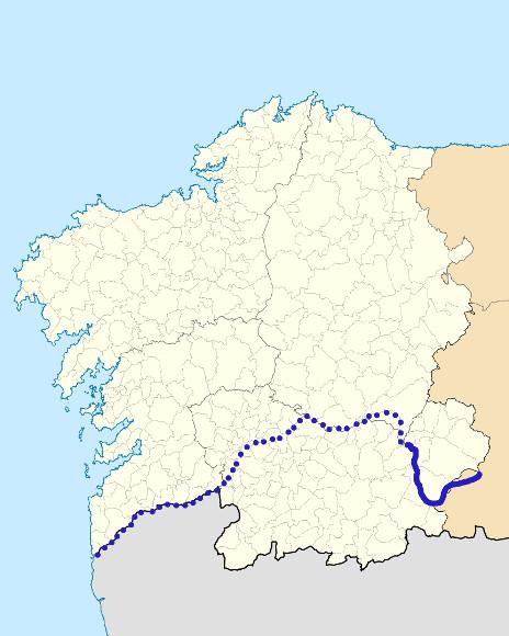 Mapa de situación de Bibei