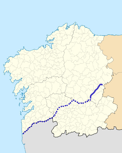 Mapa de situación de Lor