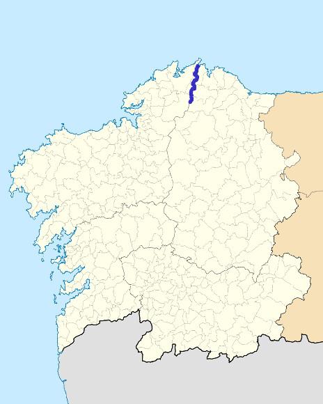 Mapa de situación de Sor