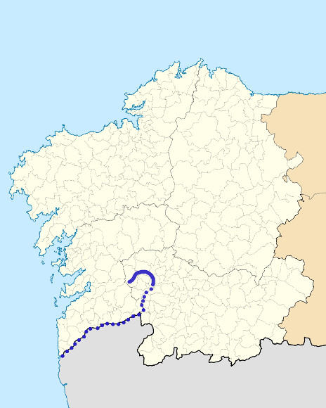 Mapa de situación de Avia