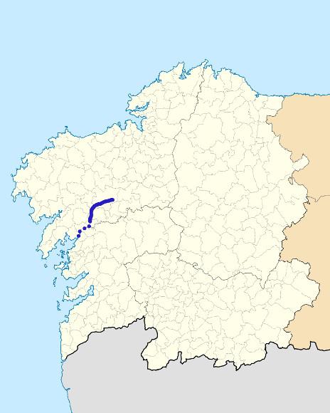 Mapa de situación de Sar