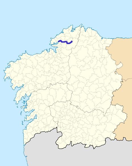 Mapa de situación de Grande de Xuvia