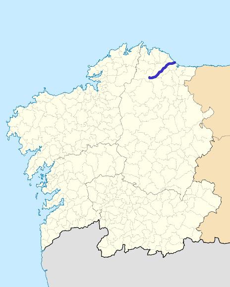 Mapa de situación de Ouro