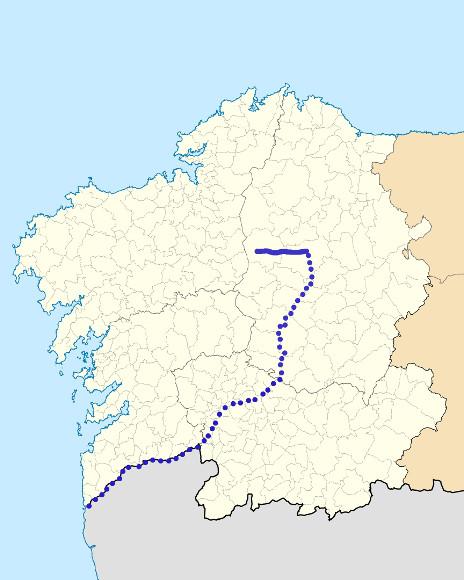 Mapa de situación de Narla