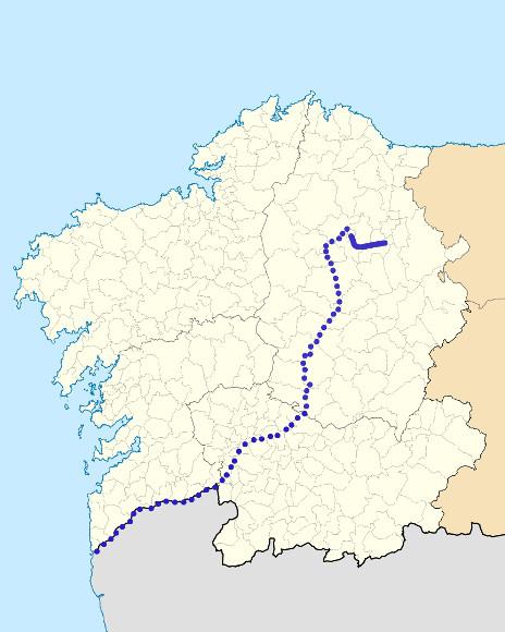 Mapa de situación de Lea