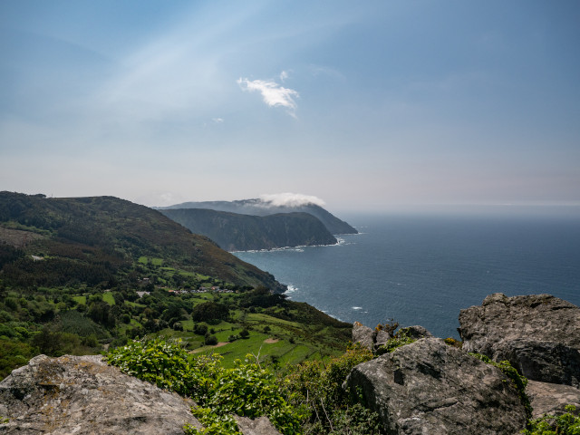 Praia de Teixidelo (Galicia)
