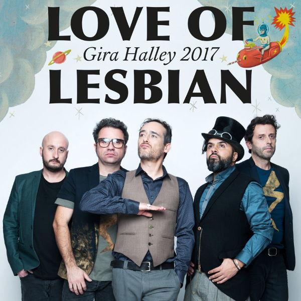 Love of Lesbian en A Coruña y Santiago