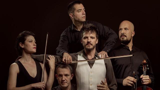Coque Malla y el cuarteto Irrepetible (Galicia)