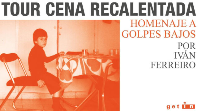 Iván Ferreiro - Tour Cena Recalentada (Galicia)