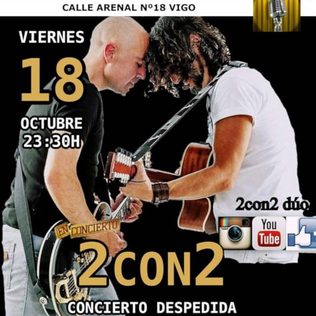 Concierto de 2CON2 en Vigo