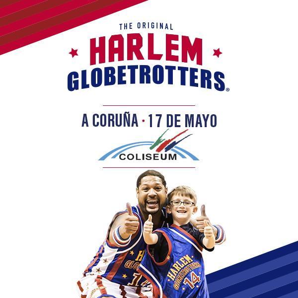 Los Harlem Globetrotters en A Coruña